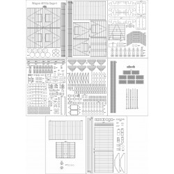Wagon 401Ka Gags-t - skeleton, details