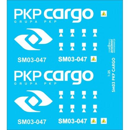 SM03 PKP Cargo - decals