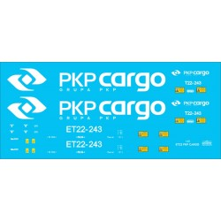 ET22 PKP CARGO - decals