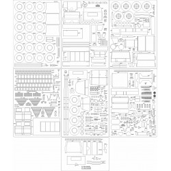 ZIŁ-131 AC-40-137A - laser cut frames and details