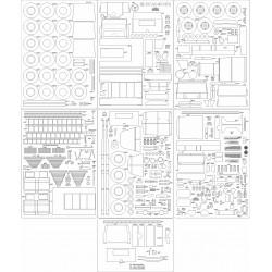 ZIŁ-131 AC-40-137A - szkielet, detale