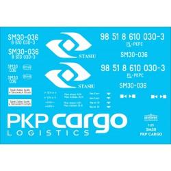 SM30 PKP Cargo - decals
