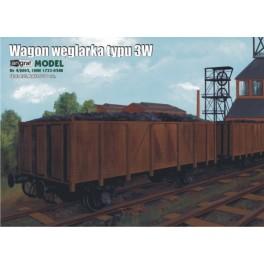 Wagon weglarka 3W /2 modele!/