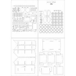 M113 WEM - laser cut frames and details
