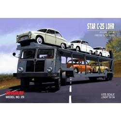 STAR C-25 LOHR + 5 x Syrena 104