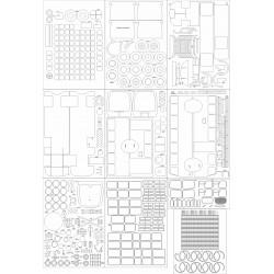 Jelcz 021 - skeleton, details, treads