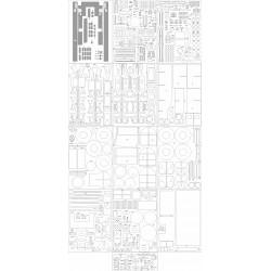 Parowóz Pt31 - szkielet, wiązary, ostoja, detale, pomosty