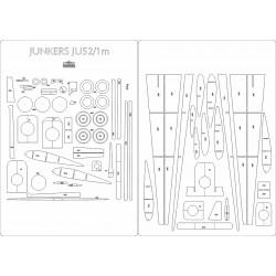 Junkers Ju 52/1m - laser cut frames and details