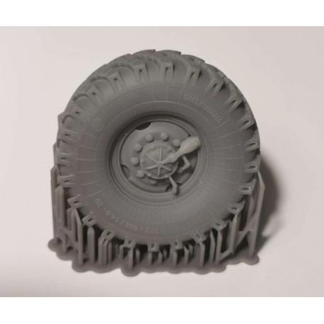 Ural 4320 Osiny - zestaw kół
