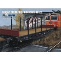Platform wagon with stanchions 401Ze