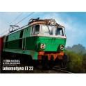 Locomotive ET22 - complete set with laser elements