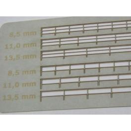 Relingi podwójne 100 cm / 8,5 mm 1:200