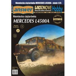 Mercedes L4500 ciężarówka