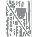 IJN TAIHO, pokład ryflowany 1:200