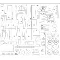 Messerschmitt Me-109 E3 - szkielet