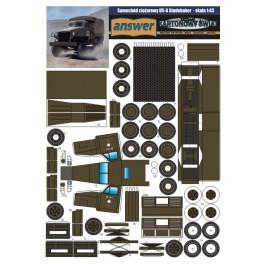 US6 Studebaker - model dla początkujących