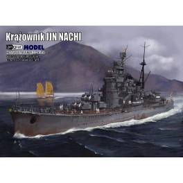 Krążownik IJN Nachi - zestaw model + komplet laserów