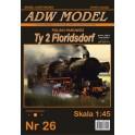 Locomotive Ty2 Floridsdorf - 1:45