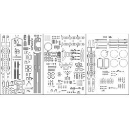 Parowoz Oki 2 - szkielet, wiazary, ostoja, detale