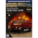 Mercedes L4500F samochód pożarniczy