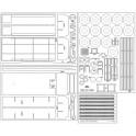 Jelcz 004M GBA - szkielet, detale, bieżniki