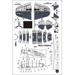 Dodatkowe samoloty do USS TICONDEROGA - Helldiver