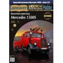 Mercedes L1500S z przyczepką - samochód pożarniczy